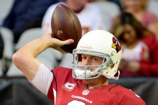 Arizona Cardinals coach Bruce Arians said quarterback Carson Palmer and wide receiver Larry Fitzgerald will not play in the Hall of Fame…