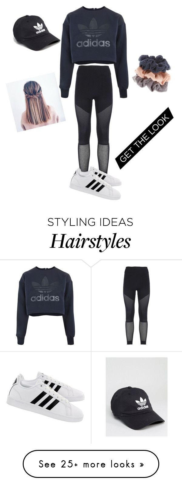"""Hoodie"" by kaley-mcevoy on Polyvore featuring adidas and Hoodies"