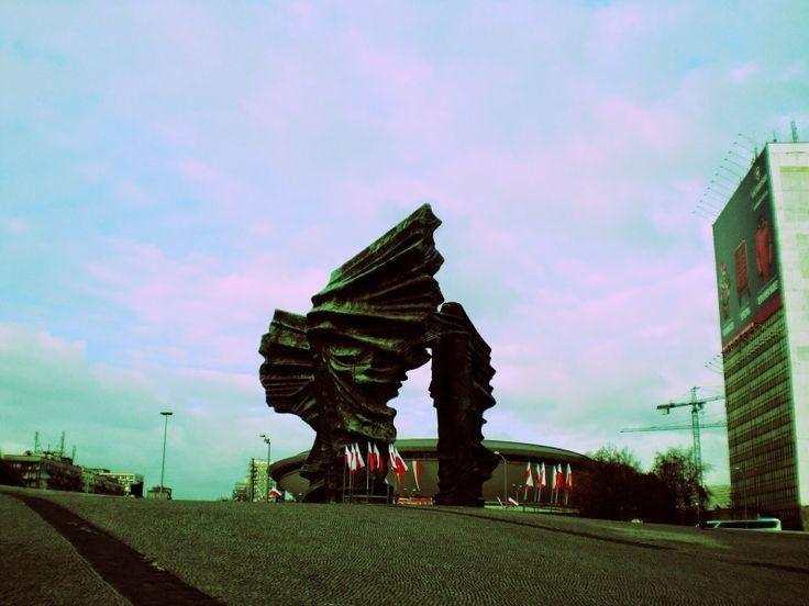 #Monument in #Katowice