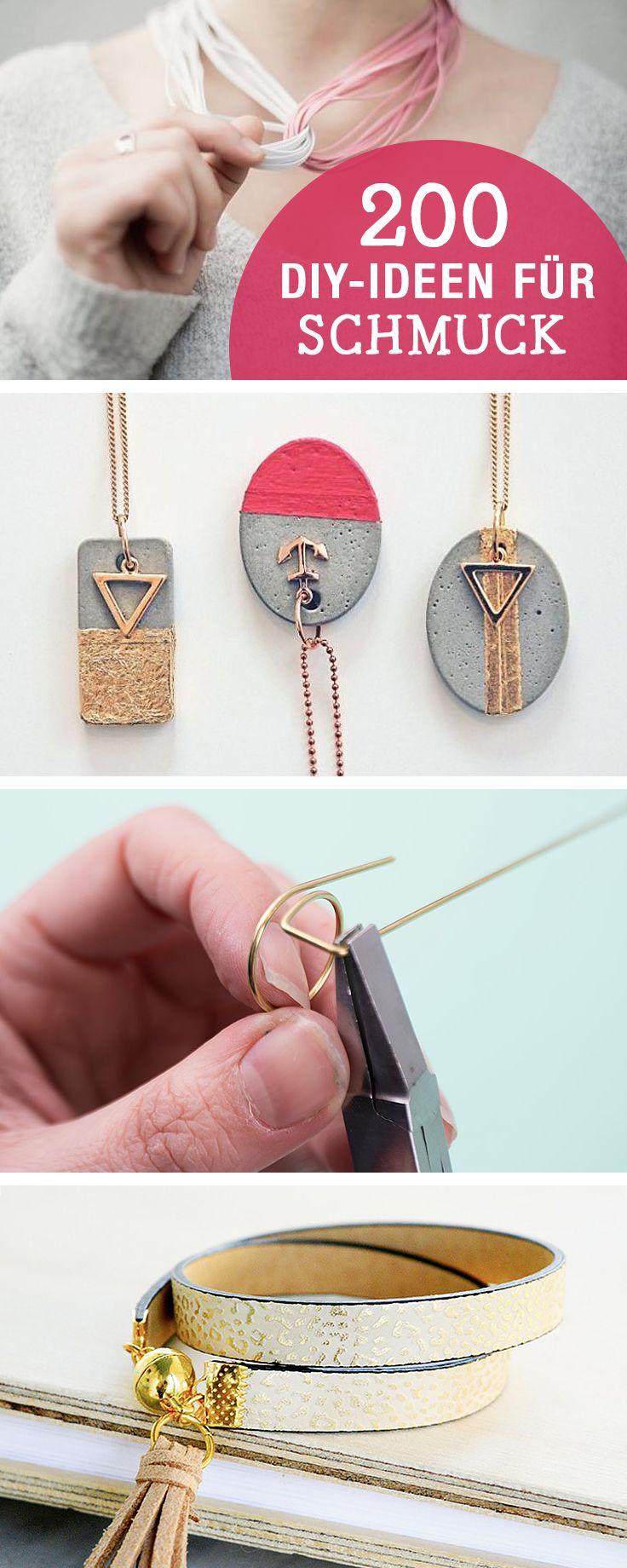 DIY-Anleitungen für Schmuck, kreative Ideen zum Schmuck selbermachen / diy tutorials for jewelry, crafting jewelry via DaWanda.com