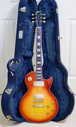 Gibson Les Paul Standard Cherry Sunburst Flame Top