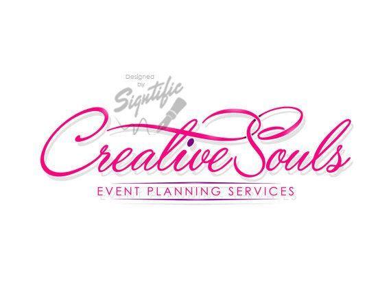 Logotipo de pequeña empresa, diseño de logotipo de planificación de eventos personalizado, logotipo rosa, logotipo fucsia, …  – Event Planing