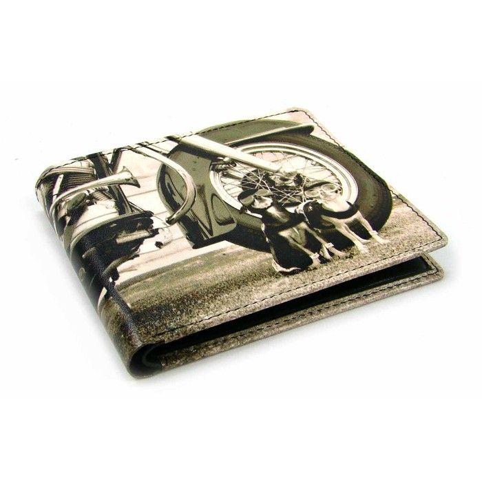 Malá retro kožená peněženka - peněženky AHAL