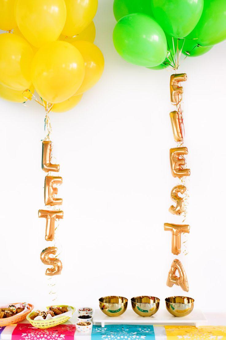 DIY Fiesta Bar Signs