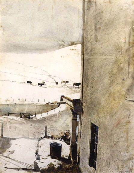 wyeth paintings | Original Andrew Wyeth Paintings