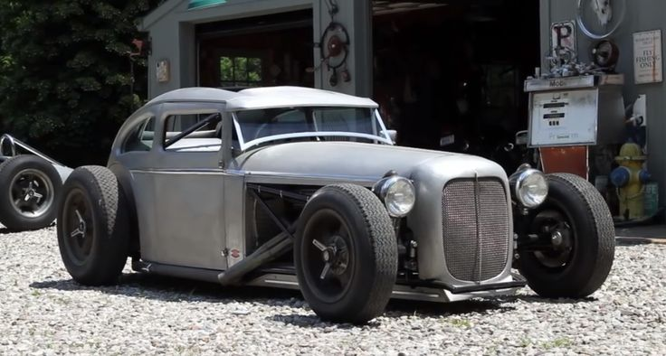 Murray Brothers Garage Custom Coupe Rod Hot Rods
