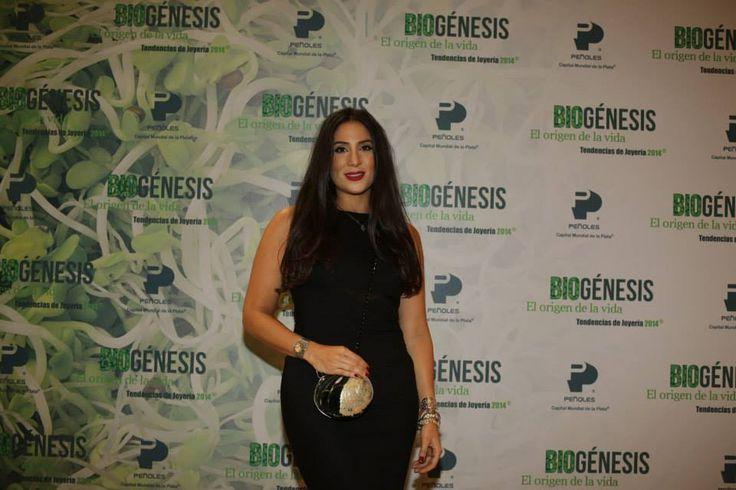 Jordana Tello en Tendencias Peñoles 2014 BIOGÉNESIS