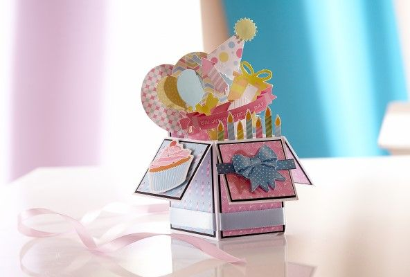 Card created with the Sara Signature Birthday Party Collection from Crafter's Companion. #crafterscompanion