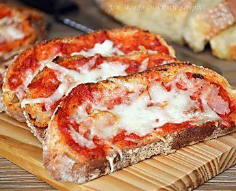 Pane pizza   Ricetta semplice per riciclare il pane raffermo