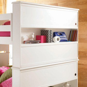 Elite Reflections Twin over Twin Bunk Bed - Twin over Twin Bunk Beds at Hayneedle