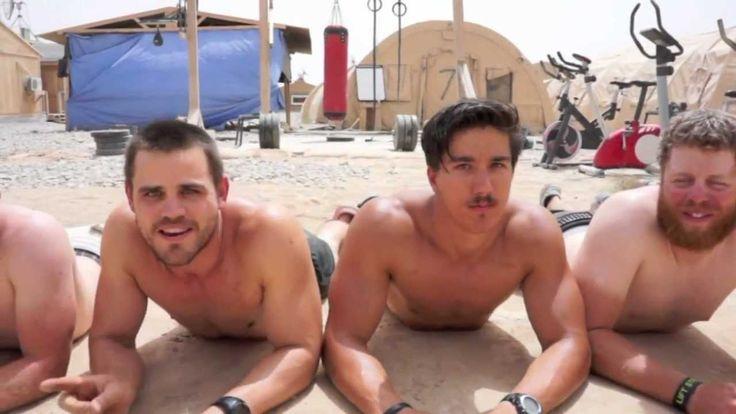 """Miami Dolphins Cheerleaders & U.S. Troops in Afghanistan sing """"Call Me M..."""