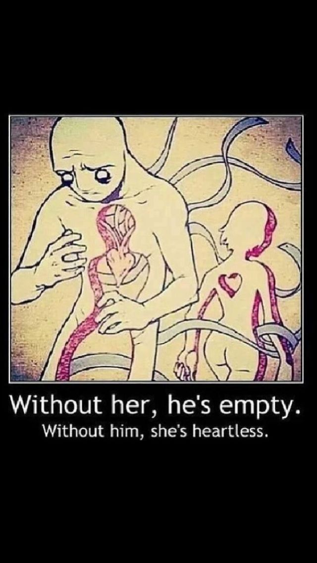 Without her, he's empty. Without him, she's heartless ...