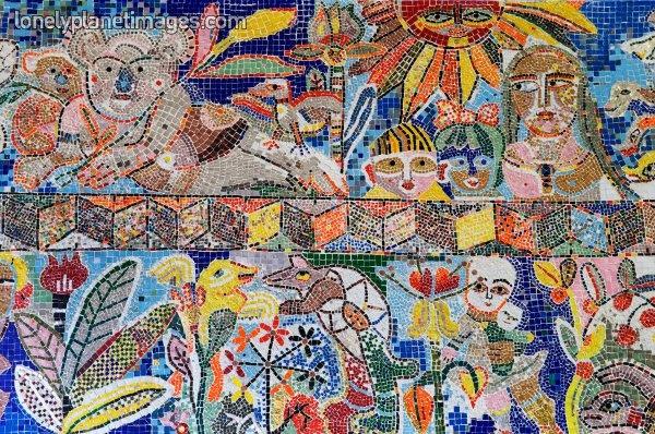 Mirka Mora Mosaic  / Flinders Street Station