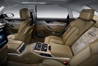 2011 Audi A8 L Interior Room