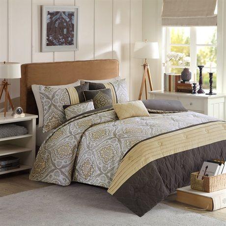 Best 10+ Brown comforter ideas on Pinterest | Brown ...