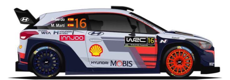 WRC | HYUNDAI | #16 | Dani Sordo - Marc Martí ( 12 )