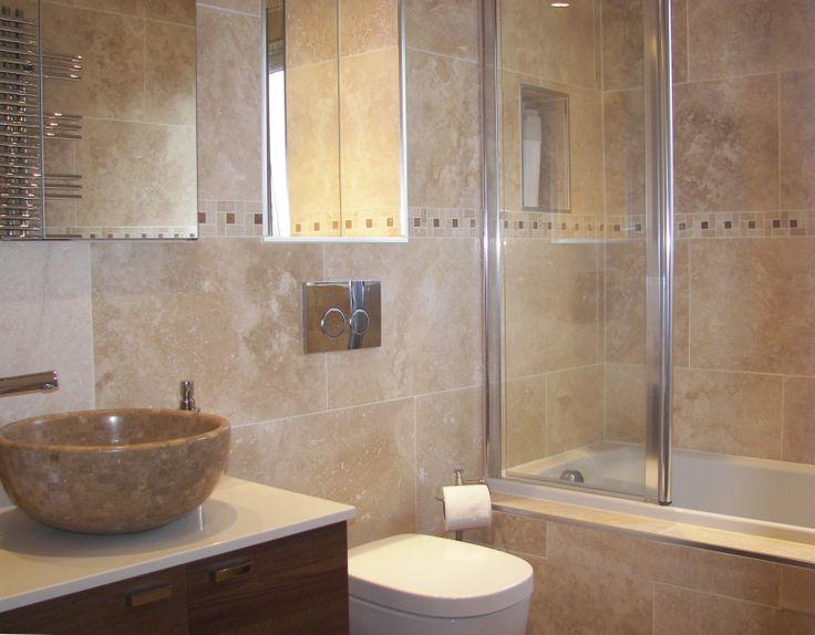 Bathroom Ideas Travertine 11 best bathroom ensuite images on pinterest | bathroom ideas