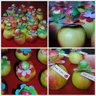 Kindertraktaties: Appeltjes!