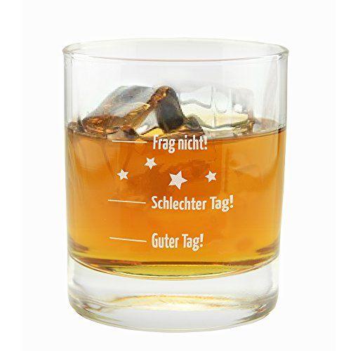 Das witzige Whiskyglas ist ein lustiges Geschenk für Männer, die gerne Whisky trinken. Verschenke es zum Vatertag, Geburtstag oder zu Weihnachten.