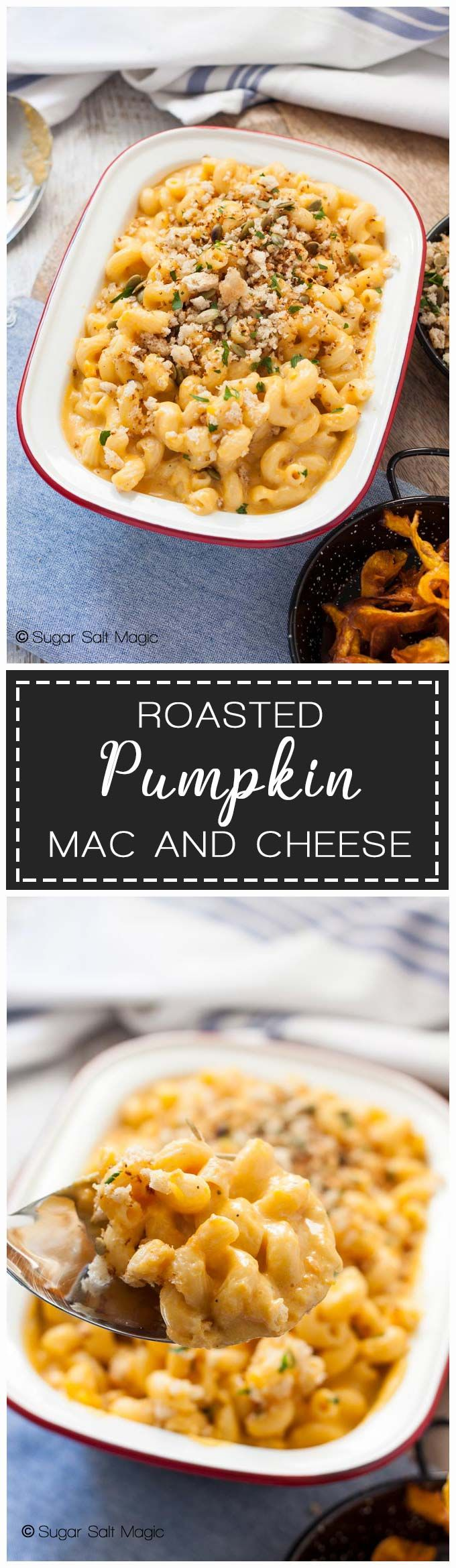 This Roast Pumpkin Mac and Cheese is comforting an…
