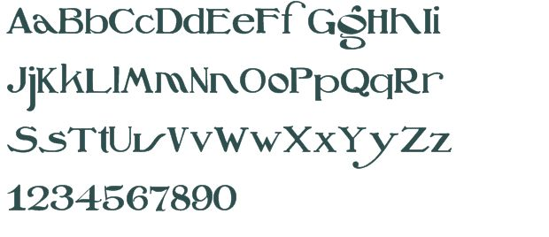 Oz s Wizard Windows font - free for Personal