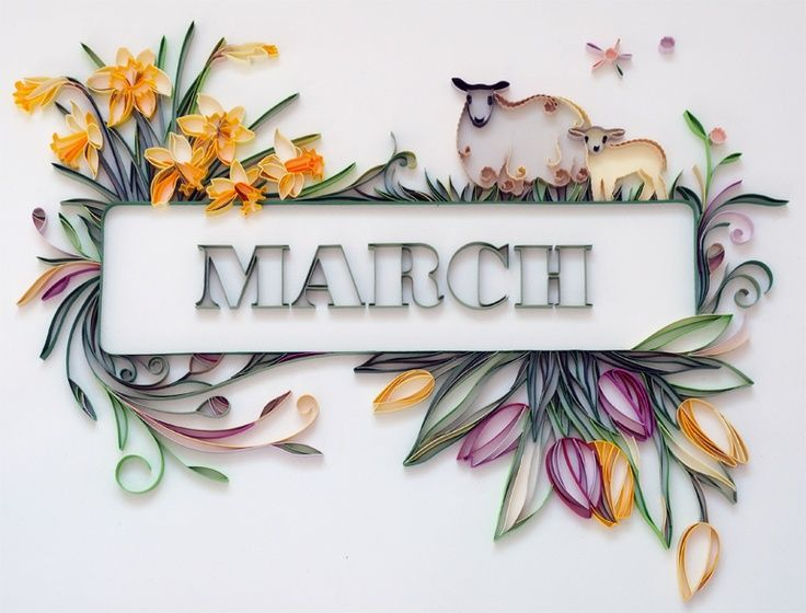 Calendar Wallpaper Quilling : Images about march on pinterest clip art piglets