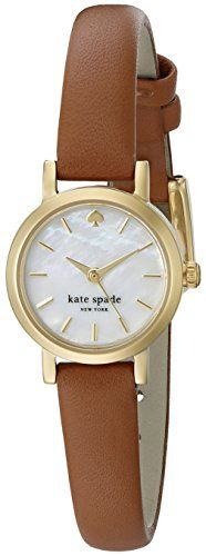 kate spade new york Women's 1YRU0867 Tiny Metro Analog Display Japanese Quartz Brown Watch kate spade new york http://www.amazon.com/dp/B00WDVYIKW/ref=cm_sw_r_pi_dp_VHq3vb03555VQ