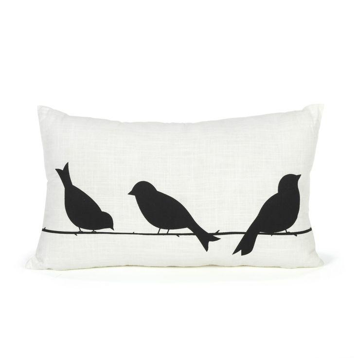 Coussin rectangulaire Birds - Textiles et tapis - Alinea