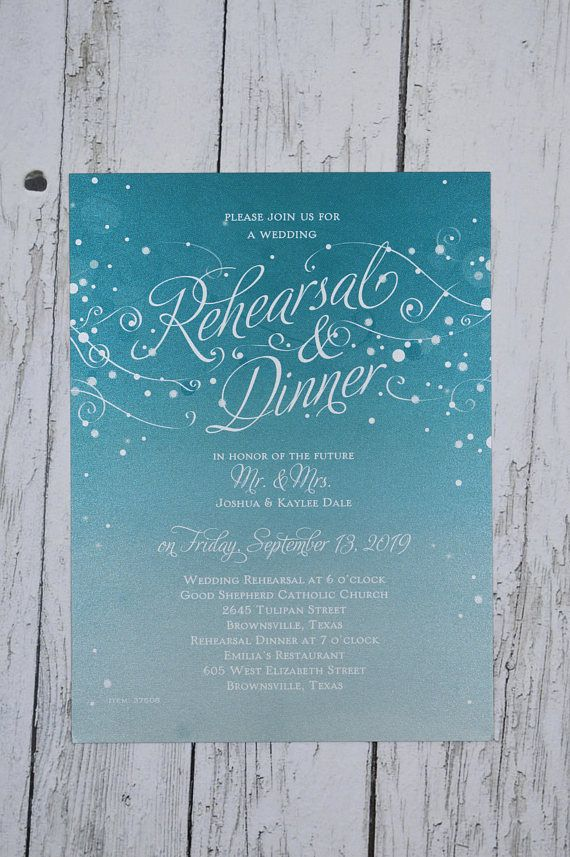 Rehearsal Dinner Invitation 28 best REHEARSAL DINNER