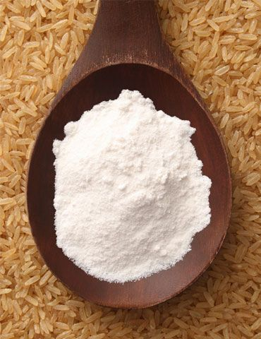 Ground rice flour