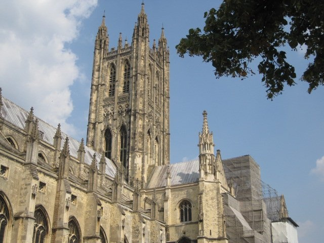 Canterbury Cathedral. My most favourite building of them all. Beautiful and truly awesome to behold.