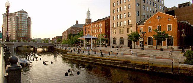 River walk; Providence, RI