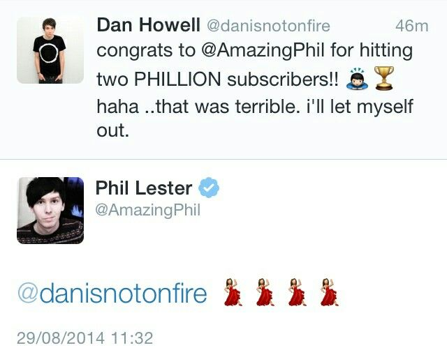 HAPPY TWO MILLION PHIL!! <3 phillion actually sounds good I think - ill also let myself out