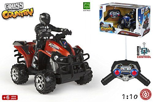 Quad Cross Country 1:10 RC (ColorBaby 43365)