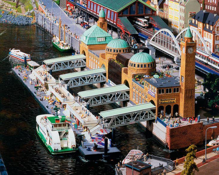 Hamburg selbst nimmt einen großen Teil im MiWuLa ein, photo © Miniatur Wunderland Hamburg GmbH