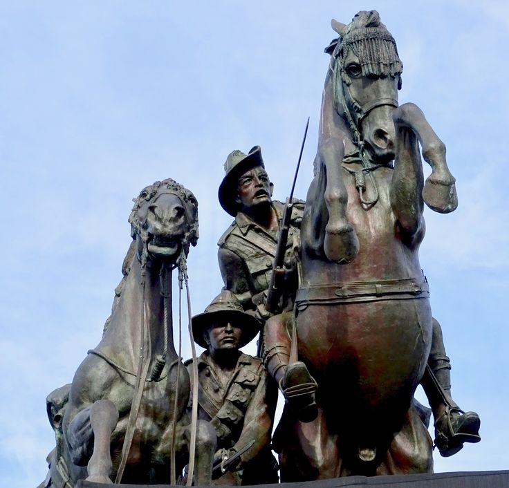 Desert Mounted Corp Memorial. Albany Western Australia.