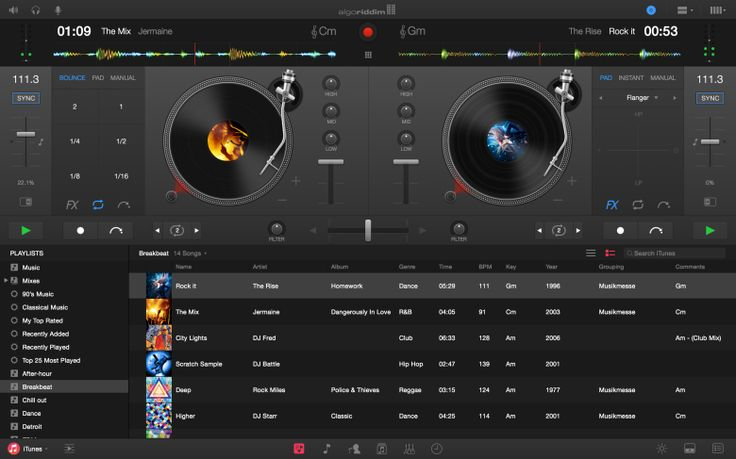Algoriddim's Djay app (currently available on iOs and Mac), releases a new Mac version with Spotify integration. #apps #Mac