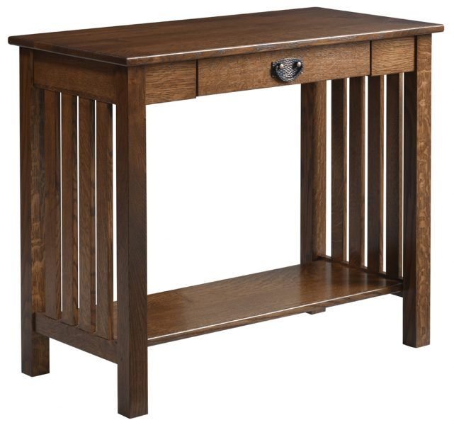 Up To 33 Off Liberty Mission Sofa Table Amish Outlet Store Mission Style Furniture Hall Table Sofa Table