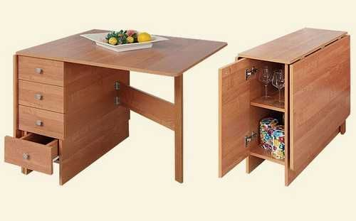 30 Space Saving Folding Table Design Ideas for Functional Small Rooms