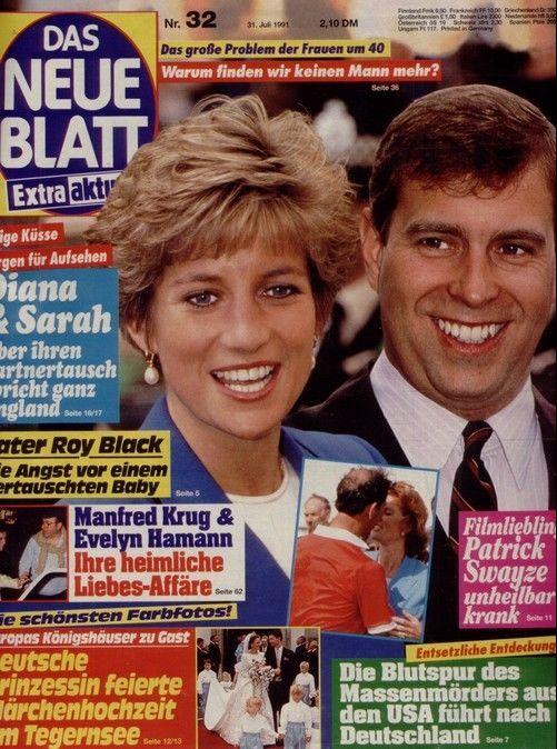 """Das Neue Blatt"" (Nr.32 vom 31.7.1991) Sarah & Diana"