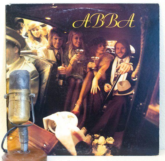 Abba Vintage Vinyl Lp Record Album 1970s Swedish Europop Disco