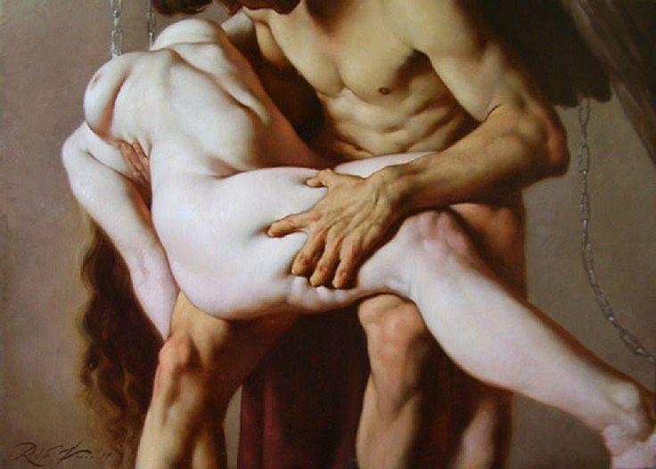 Roberto Ferri pintura barroca simbolista controvertida 10