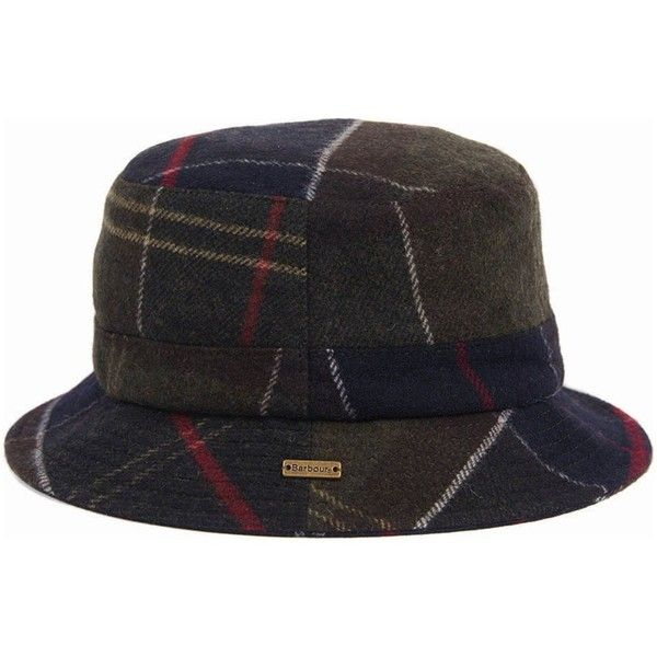 Women's Barbour Galloway Bucket Hat - Barbour Classic (920 MXN) ❤ liked on Polyvore featuring accessories, hats, tartan hat, barbour hats, bucket hat, fishing hat and barbour