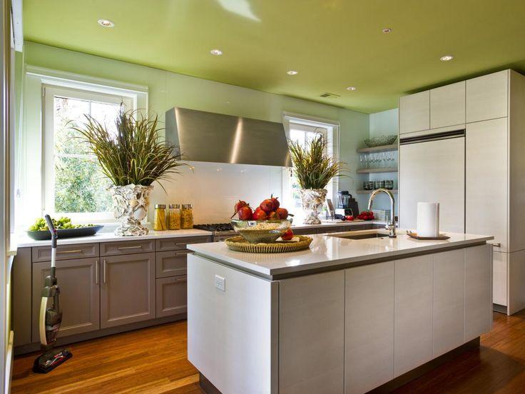 Malen von Küchendecken: Bilder, Ideen & Tipps von
