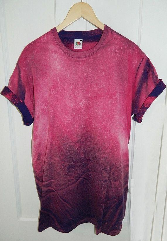 Tie Dye T-Shirt lavage acide T-shirt hipster par TIEDYETOPSHIRTS