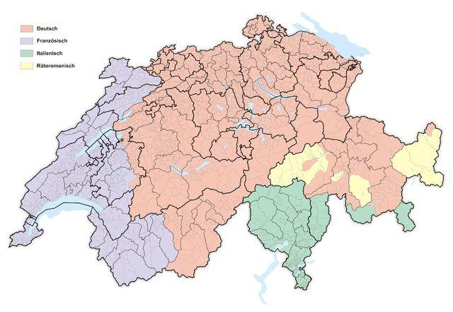 Какой иностранный язык должны учить швейцарские школьники?