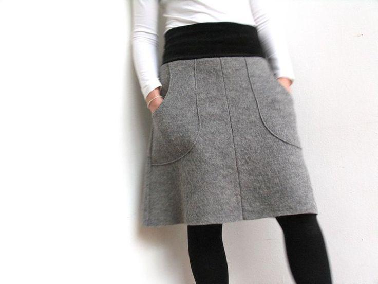 jumoberlin :: wool skirt