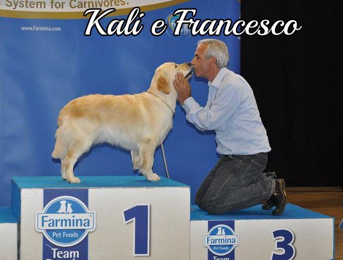 Kali e il suo umano  Francesco in affettuosa posa #MyDogAndMe