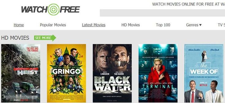 Watchfree Similar Sites To 123movies Movies To Watch Movie Website Movies Online