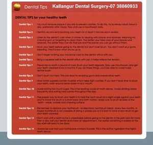 Dental Care Tips for your precious smile. - Kallangur Dental Surgery, Dentists, Kallangur, QLD, 4503 -Appointments: 07 38860933